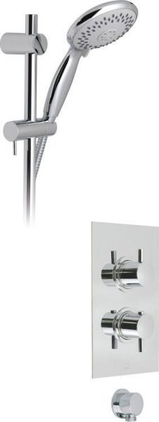 Vado Celsius thermostatic shower valve kit WG-CELBOXSQ/SP-C/P