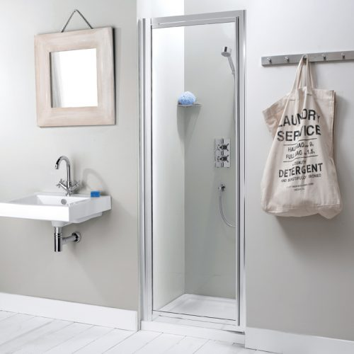 Simpsons Supreme 870 - 930mm Shower Pivot Door 7088