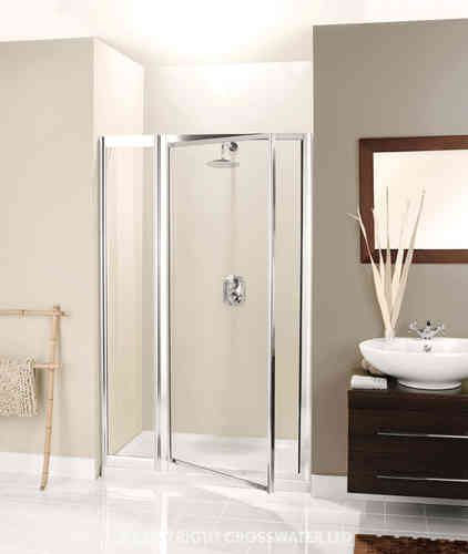 Crosswater Supreme Inline Door with Panel 1200mm 7141/7153