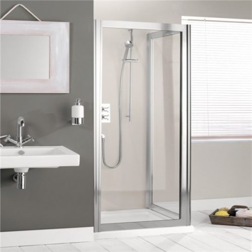 Crosswater Supreme Side Panel ONLY in Silver Frame 760 7147