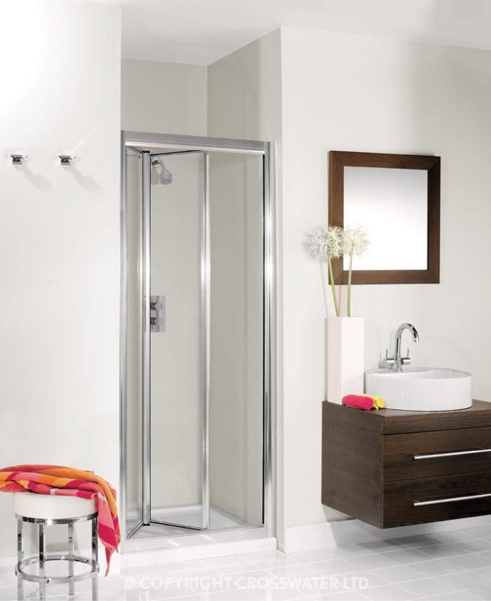 Simpsons Supreme Small Bifold Shower Door 600mm plus 7230