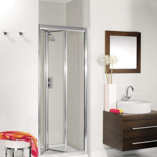 Crosswater Supreme Bifold Door Silver 900mm 7233