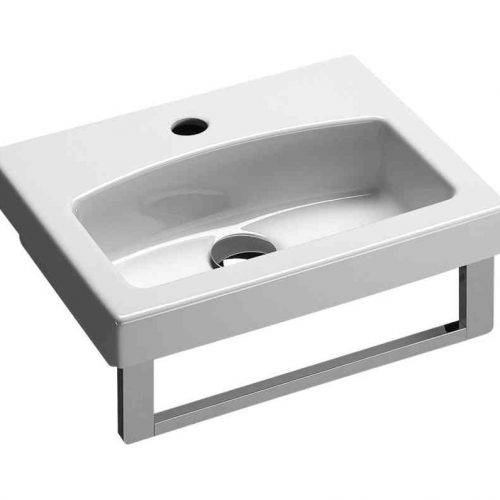 Saneux Monty 1 Tap Hole Basin 400 x 320mm 7584