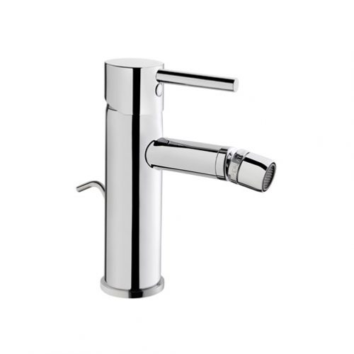 Vitra Minimax S Chrome Bidet Mixer With Waste 76.MBIM