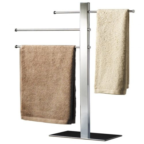 Gedy Bridge Freestandng Modern Square Towel Stand 7631-13