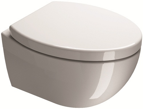Saneux Poppy Big Wall Mounted WC Toilet Pan Only 7712