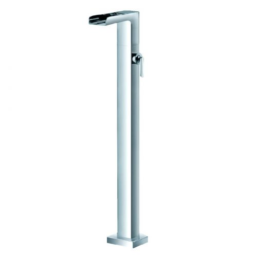 Just Taps Plus Cascata S/Lever Floor Bath Filler 77128
