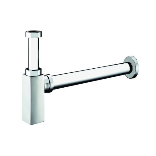 Just Taps Plus Square Chrome Modern Look Bottle Trap 777