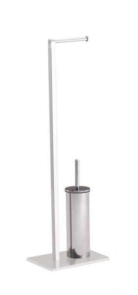 Gedy Maine Free standing Toilet Brush & Roll Holder 7832-13