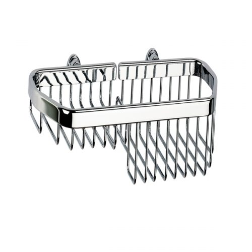 Sonia Medium Combined Shower Basket In Chrome 086993