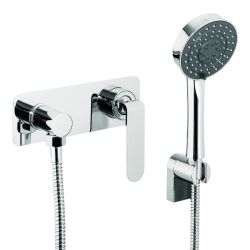 Just Taps Plus Vue Conc Manual Valve And Shower Kit 87012