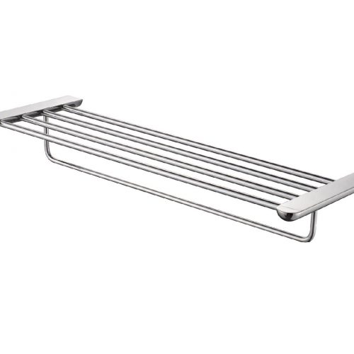 Just Taps Plus Vue Towel Shelf With Arm C.P 87181