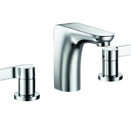 Just Taps Plus Vue 3 Hole Basin Mixer, HP 1 87191