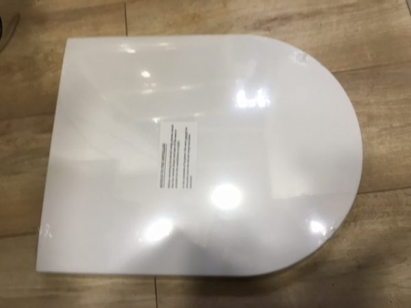 Villeroy And Boch D Shape Replacement Soft Close Seat for Austen