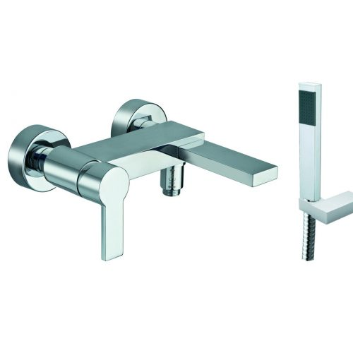 Just Taps Plus Italia 150 bath shower mixer and kit 89267
