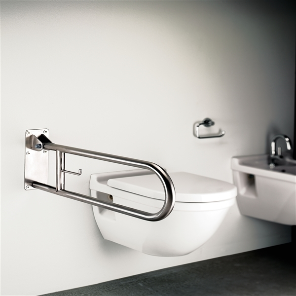 Sonia Disabled Toilet Safety Swing Bar Stainless Steel-6492