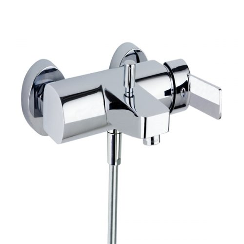 RS-Q Bath/Shower Mixer WAll Mtd - no shower set 9305.S