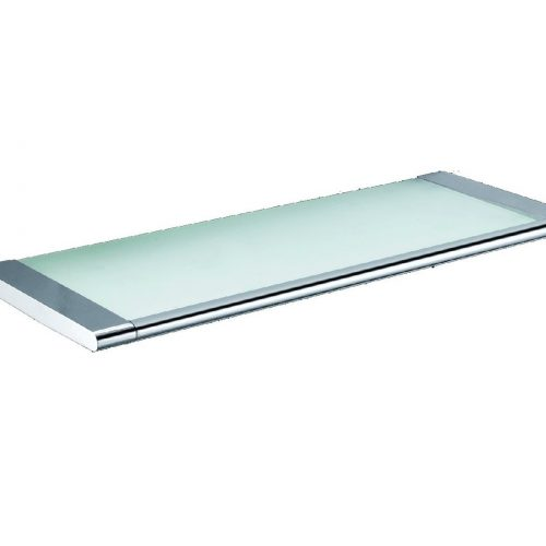 Just Taps Plus Floating Glass Shelf for a bathroom 940171