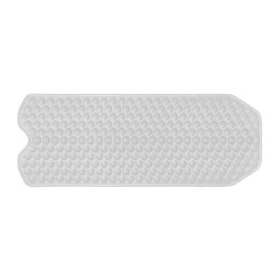 Gedy Funky Bubble 1m Long Bath Mat in Clear 971040-00