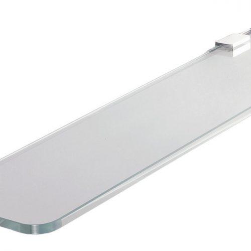 Gedy Dynamic Glass Shelf 60cm In Chrome 098286