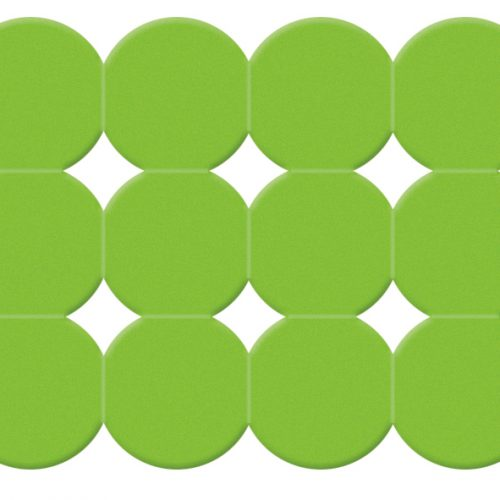 Gedy Giotto Funky Colour 79cm Bath Mat in Green 983979-04