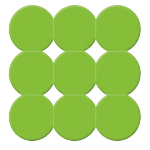 Gedy Giotto Non Slip Square Shower Mat Green 985555-04