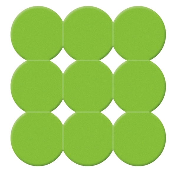Gedy Giotto Non Slip Square Shower Mat Green 985555-04