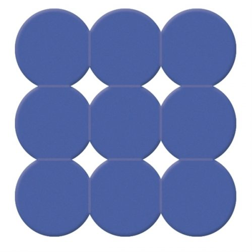 Gedy Giotto 545mm Square Shower Mat in Blue 985555-11