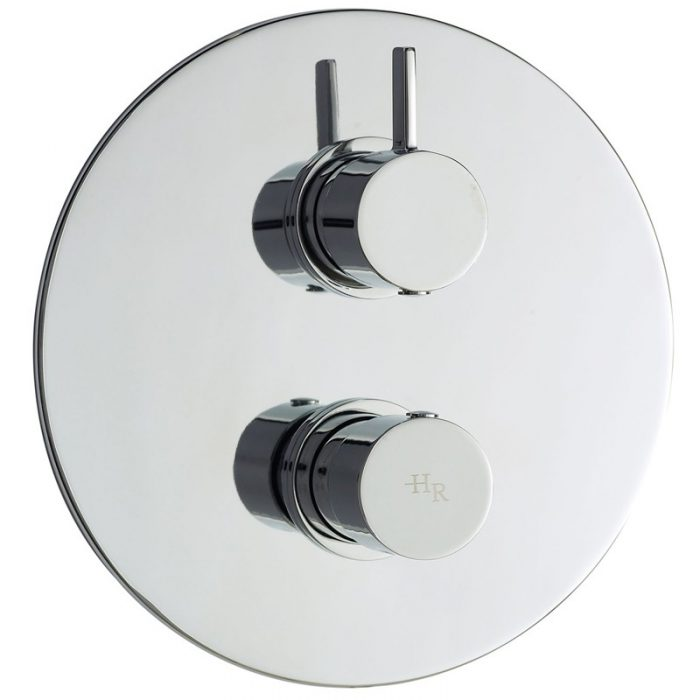 Hudson Reed Clio Twin Concealed Thermo Shower Valve A3015