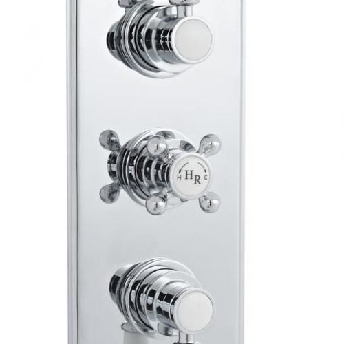 Hudson Reed triple 2 function traditional shower valve A3035