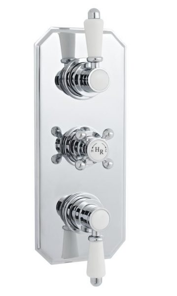 Buy Online Hudson Reed Triple 2 Function Traditional Shower Valve A3035