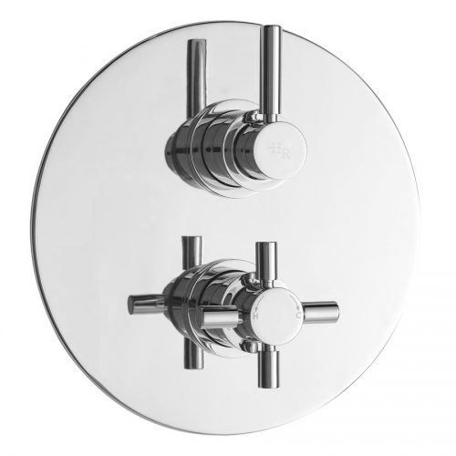 Hudson Reed Tec Twin Concealed Thermo Shower Valve A3098