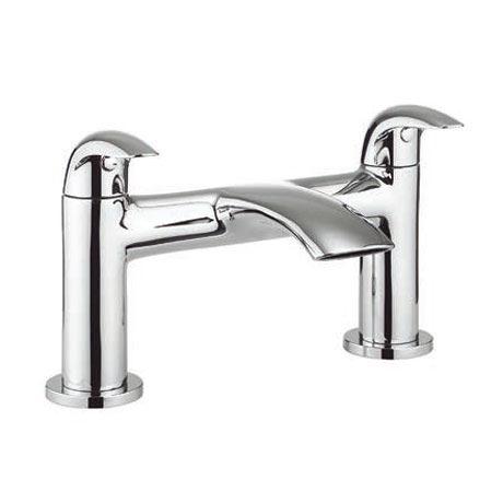 Adora Crescent Curved Lever Bath Filler Tap MBCR322D
