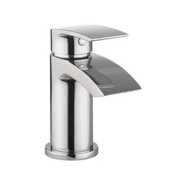 Adora Flow Mini Small Basin Mixer in Chrome MBFW114N