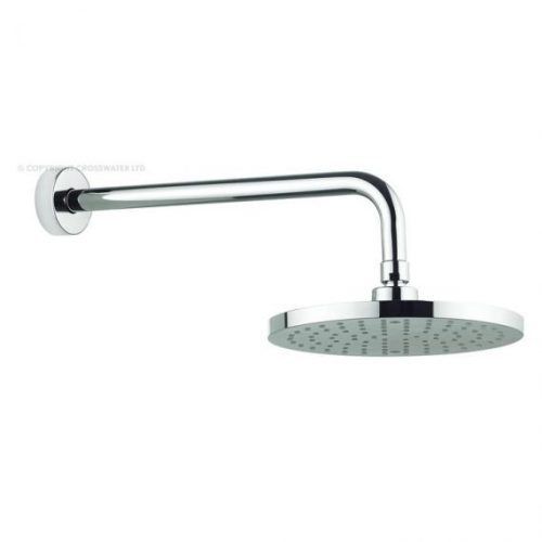 Adora Fusion 200mm Round Fixed Shower Head and Arm MBFUWF20