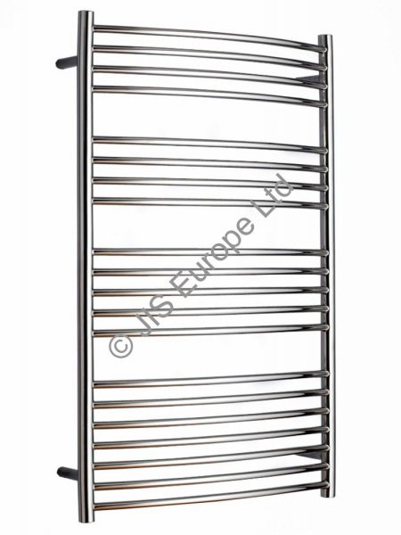 JIS Sussex Adur 620 Stainless Steel Heated Towel Rail