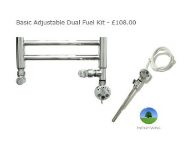 JIS Basic Adjustable Dual Fuel Kit not inc valves