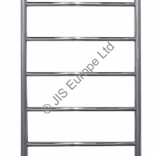 JIS Alfriston 1260 x 520 Chrome Heated Towel Rail