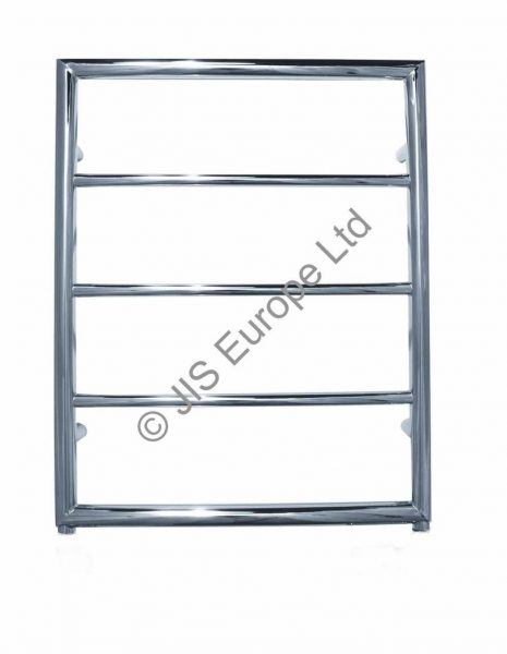 JIS Alfriston 650/520 Stainless Steel Heated Towel Rail