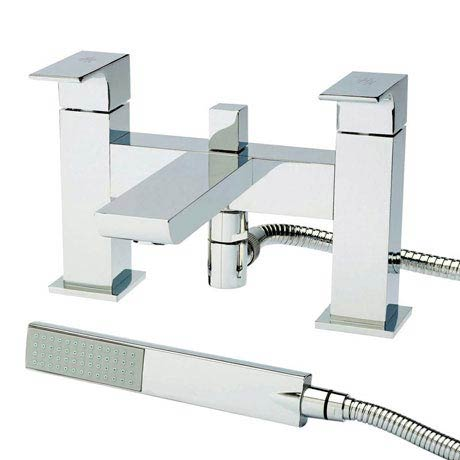Hudson Reed Chrome Art Bath Shower Mixer ART304