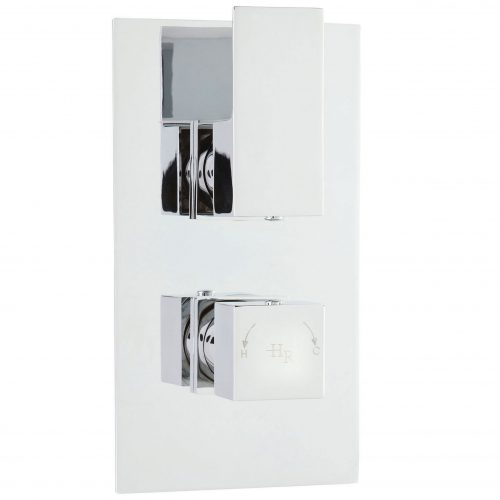 Hudson Reed Art Twin Concealed Therm Shower Valve ART3210