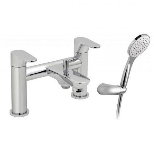 Vado Ascent 2 Hole Bath Shower Mixer & Kit ASC+K-130-C/P
