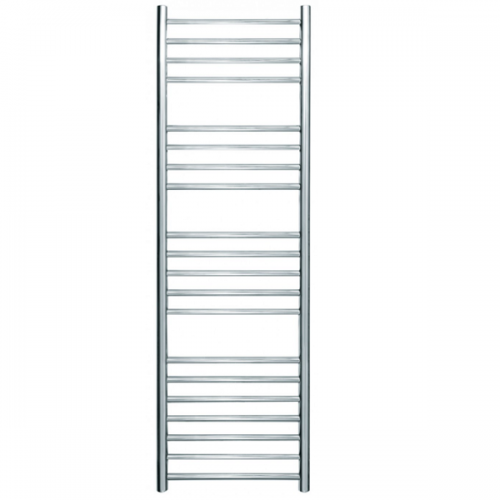 JIS Ashdown 400 Stainless Steel 1250x400mm Heated Towel Rail-0