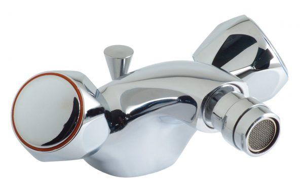 Vado bidet mixr with waste contract handle AST-110/CD-C/P