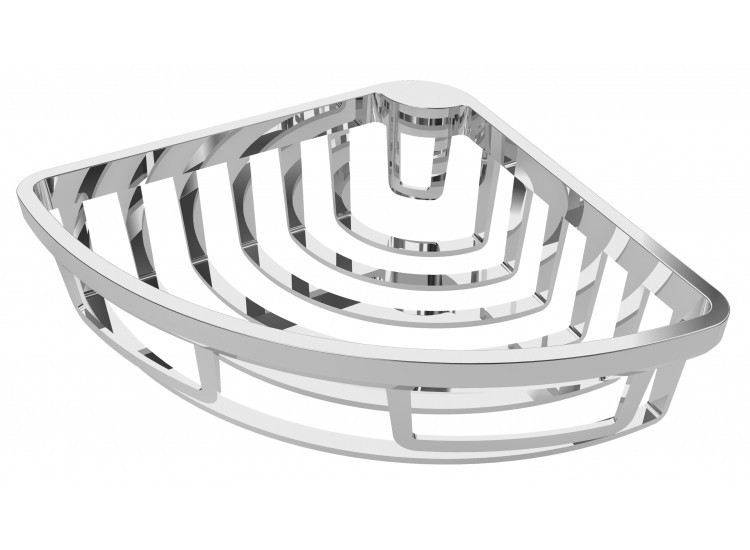 Vado removable corner shower basket wall mtd BAS-2000-C/P