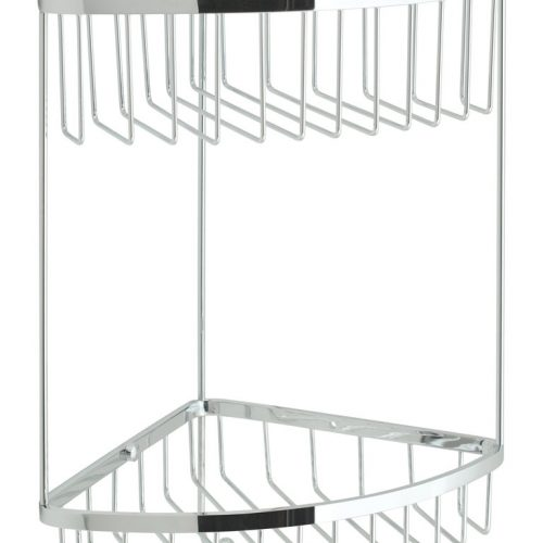 Vado large double triangular basket & hook BAS-2004-C/P