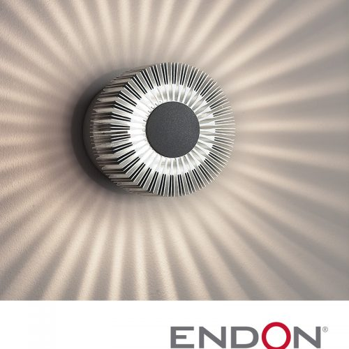 Bathroom Diffuser Wall Light in Aluminium EL40016