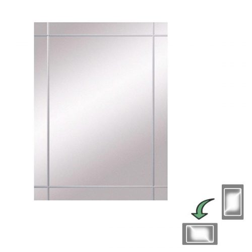Bathroom Origins Seville Mirror 45cm 450 x 600mm 320744