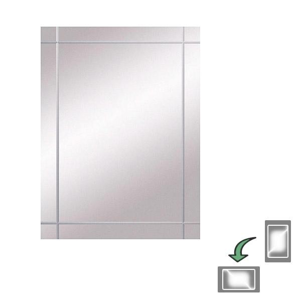 Bathroom Origins Seville Mirror 45cm 450 x 600mm 320744