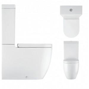 Bauhaus Dual Flush concealed cistern 743 x 480mm WCC75X50+